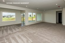 Dream House Plan - Future Finished Basement Family Room