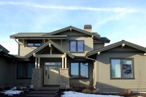 Craftsman Exterior - Front Elevation Plan #895-33