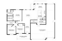 Traditional Floor Plan - Main Floor Plan Plan #1060-60