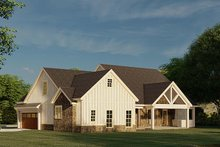 Architectural House Design - Farmhouse Exterior - Other Elevation Plan #923-183