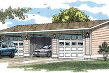 Traditional Exterior - Front Elevation Plan #47-497