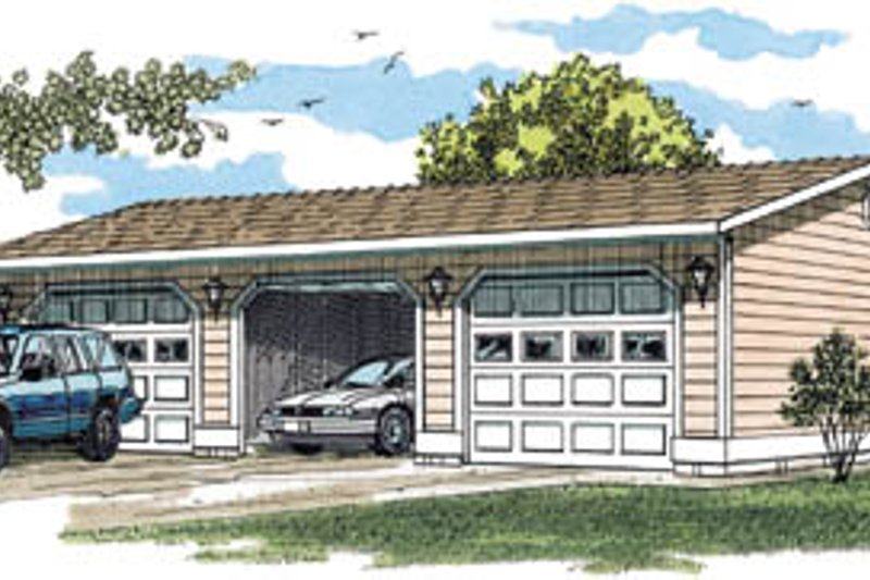 House Plan Design - Traditional Exterior - Front Elevation Plan #47-497