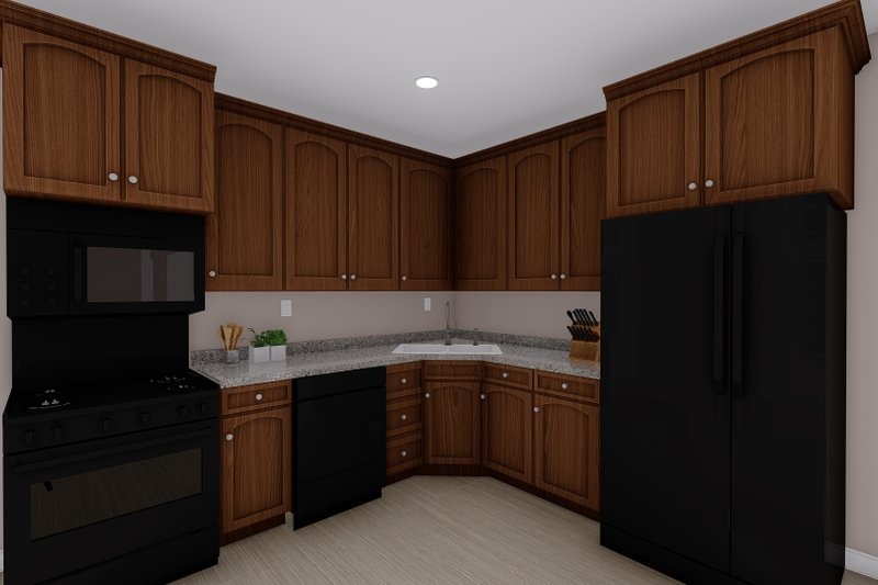 House Plan Design - Ranch Interior - Other Plan #1060-21