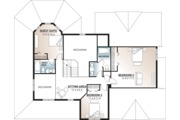 Country Style House Plan - 4 Beds 3.5 Baths 2628 Sq/Ft Plan #23-2131 Floor Plan - Upper Floor Plan