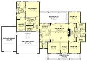 Farmhouse Style House Plan - 3 Beds 2.5 Baths 2125 Sq/Ft Plan #430-258