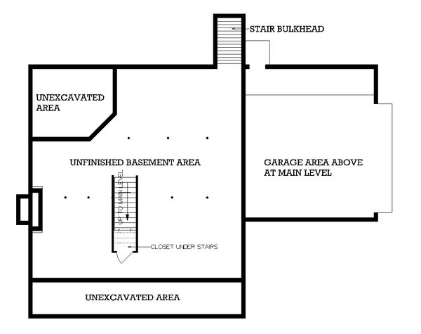 Home Plan - Traditional Floor Plan - Other Floor Plan #45-116