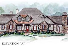 House Design - Traditional Exterior - Front Elevation Plan #54-149