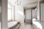 European Style House Plan - 5 Beds 5 Baths 3378 Sq/Ft Plan #929-1008 Interior - Master Bathroom