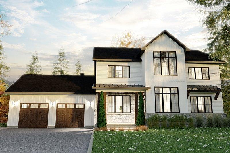 Dream House Plan - Craftsman Exterior - Front Elevation Plan #23-2724