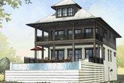 Beach Style House Plan - 4 Beds 3 Baths 2810 Sq/Ft Plan #901-114