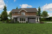 Craftsman Style House Plan - 3 Beds 2.5 Baths 2976 Sq/Ft Plan #48-1002 Exterior - Other Elevation