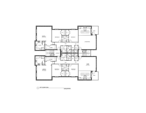 Modern Floor Plan - Other Floor Plan Plan #535-12