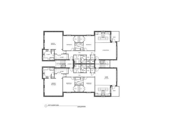 Modern Floor Plan - Other Floor Plan #535-12