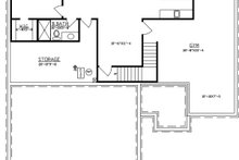 Architectural House Design - Traditional Exterior - Other Elevation Plan #405-328