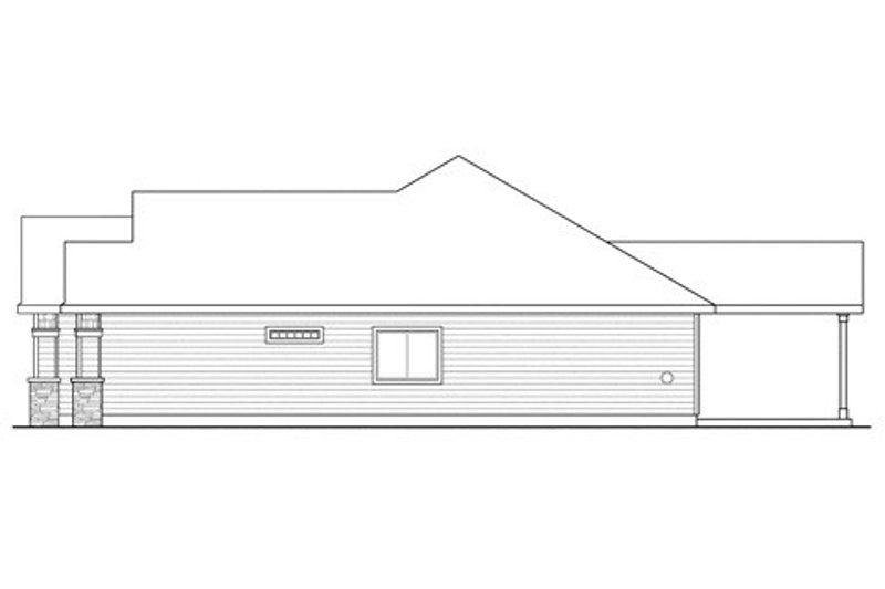 Craftsman Exterior - Other Elevation Plan #124-842 - Houseplans.com