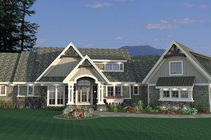 Craftsman Exterior - Front Elevation Plan #51-581