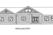 Home Plan - Traditional Exterior - Other Elevation Plan #117-548