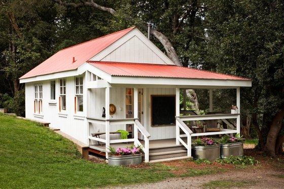 bath house plan by richardson architects