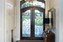 Architectural House Design - Tudor Interior - Entry Plan #929-947