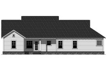 House Plan Design - Craftsman Exterior - Rear Elevation Plan #21-358