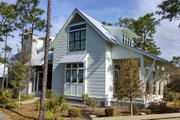 Beach Style House Plan - 4 Beds 4.5 Baths 2799 Sq/Ft Plan #443-14 Exterior - Front Elevation