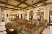 Southern Style House Plan - 6 Beds 6.5 Baths 9360 Sq/Ft Plan #20-2173 Interior - Family Room