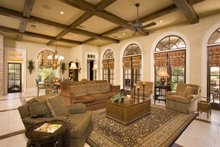 Home Plan - Southern Interior - Family Room Plan #20-2173