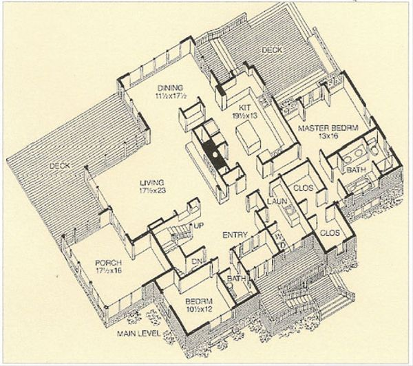 Prairie Floor Plan - Main Floor Plan #454-8