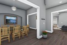 Adobe / Southwestern Interior - Dining Room Plan #1069-22