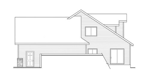 Traditional Exterior - Other Elevation Plan #124-733 - Houseplans.com