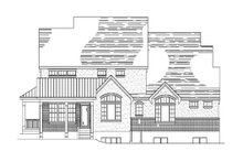 Dream House Plan - Country Exterior - Rear Elevation Plan #5-193