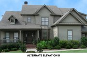 Traditional Style House Plan - 4 Beds 3.5 Baths 2994 Sq/Ft Plan #54-113 Exterior - Front Elevation