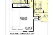 Craftsman Style House Plan - 3 Beds 2 Baths 1769 Sq/Ft Plan #430-99 Floor Plan - Other Floor Plan