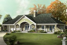 Home Plan - Exterior - Front Elevation Plan #57-582