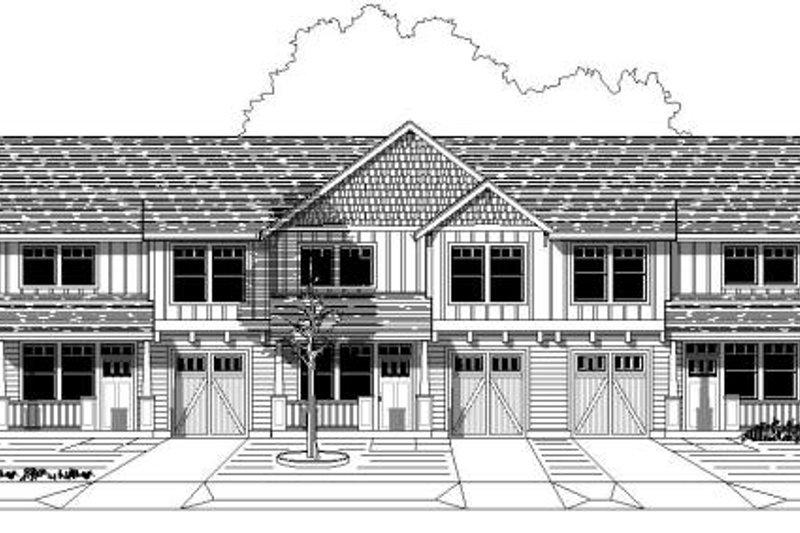 Craftsman Style House Plan - 3 Beds 2.5 Baths 4086 Sq/Ft Plan #423-8