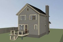 Architectural House Design - Craftsman Exterior - Other Elevation Plan #79-313