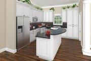 Craftsman Style House Plan - 3 Beds 2 Baths 1816 Sq/Ft Plan #21-303 Interior - Kitchen