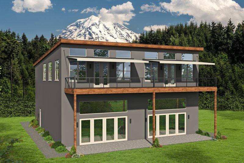 House Plan Design - Contemporary Exterior - Front Elevation Plan #932-51