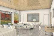 Modern Style House Plan - 2 Beds 2 Baths 1974 Sq/Ft Plan #497-17