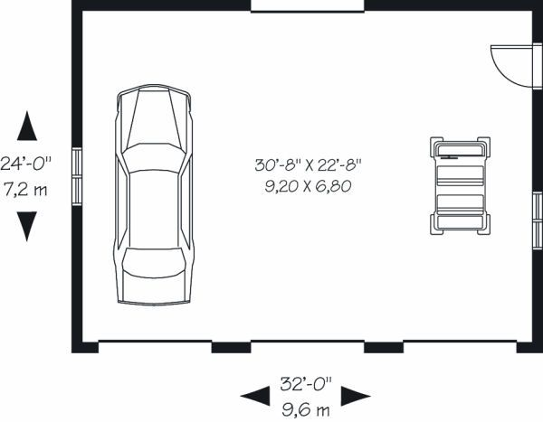 Traditional Floor Plan - Main Floor Plan Plan #23-856
