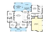 Farmhouse Style House Plan - 3 Beds 2.5 Baths 2460 Sq/Ft Plan #48-983 Floor Plan - Main Floor Plan