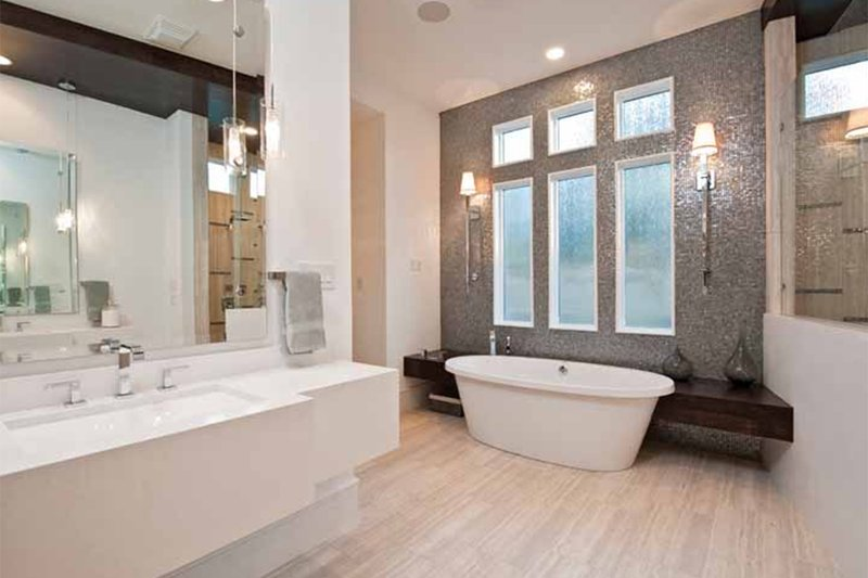 Contemporary Interior - Master Bathroom Plan #935-5 - Houseplans.com