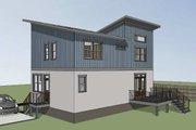 Modern Style House Plan - 3 Beds 2.5 Baths 1450 Sq/Ft Plan #79-296