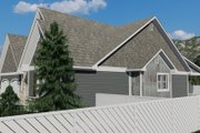 Cottage Style House Plan - 2 Beds 2 Baths 1641 Sq/Ft Plan #1060-64 Exterior - Other Elevation