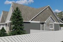 House Plan Design - Cottage Exterior - Other Elevation Plan #1060-64