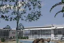 Modern Exterior - Rear Elevation Plan #535-9
