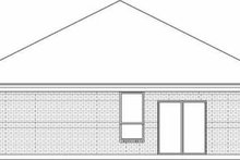 Dream House Plan - Traditional Exterior - Rear Elevation Plan #84-127