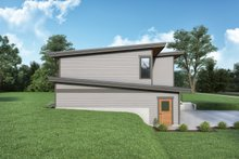 House Plan Design - Contemporary Exterior - Other Elevation Plan #1070-136