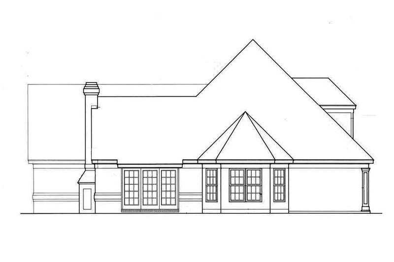 European Exterior - Other Elevation Plan #45-196 - Houseplans.com