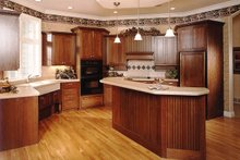 Dream House Plan - European Interior - Kitchen Plan #70-781